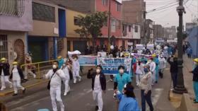 Personal de salud peruano pide mejores condiciones ante COVID-19