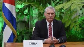 "Presidente de Cuba tilda de ""analfabeto político"" a Trump"