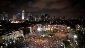 Miles de israelíes rechazan gestión de Netanyahu ante COVID-19
