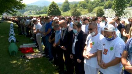 Bosnia conmemora 25.º aniversario de la masacre de Srebrenica