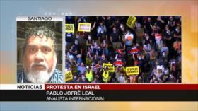Jofré Leal: Gestión israelí de la COVID-19 resulta un fracaso