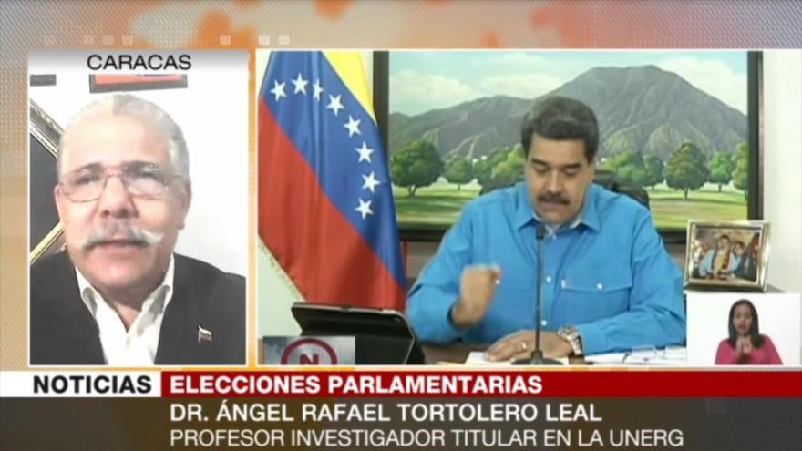 Tortolero: Comicios restituirán Parlamento en la vida democrática