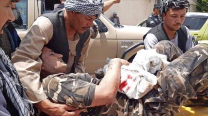 Atentado con coche bomba deja más de 40 heridos en Afganistán