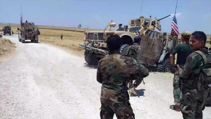 Soldado sirio a militares de EEUU: Si regresan, quemaré su patrulla
