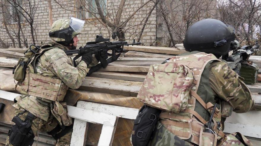 Fuerzas del Servicio Federal de Seguridad de Rusia. (Foto: Sputnik)
