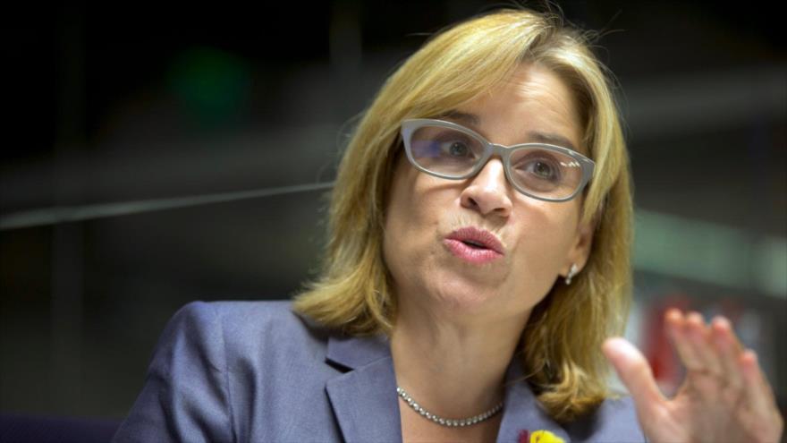 La alcaldesa de San Juan de Puerto Rico, Carmen Yulín Cruz. (Foto: AP)