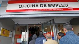 Desempleo en UE bate un récord en primer trimestre de 2020