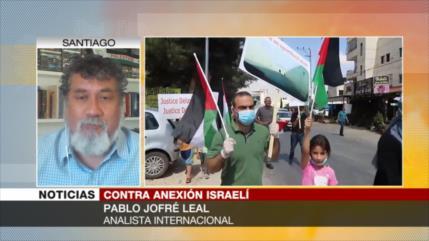 Jofré Leal: Israel no desecha su idea de anexar Cisjordania