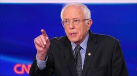 Sanders: Trump es el presidente más incapaz y debe ser derrocado