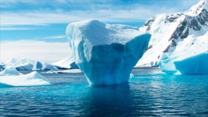 La cubierta de hielo en el Ártico se redujo a la mitad desde 1980