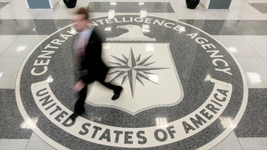 El emblema de la Agencia Central de Inteligencia de EE.UU. (CIA, por sus siglas en inglés).