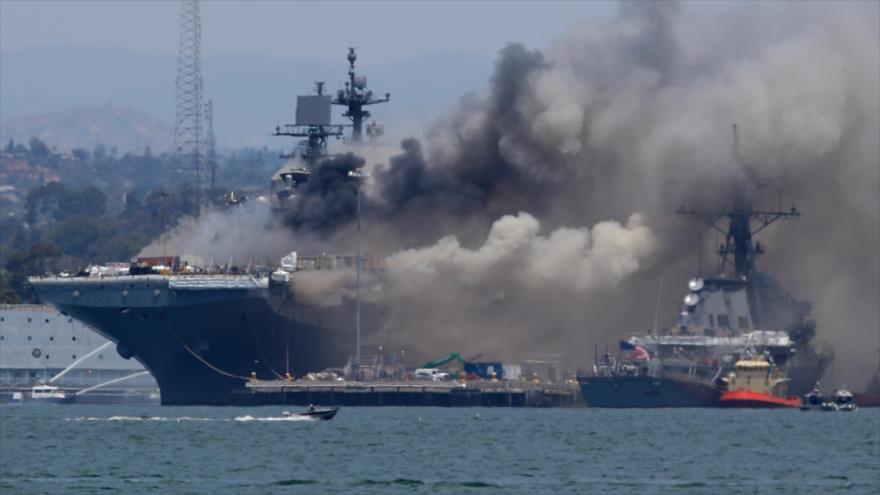 Acuerdo nuclear iraní. Incidente de buque de EEUU. Protestas en Israel - Exprés: 19:30 - 14/07/2020