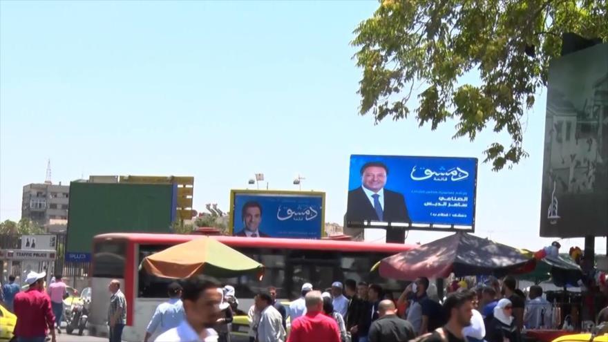 Sirios se preparan para elecciones legislativas