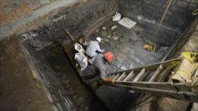 Arqueólogos descubren restos de antiguo palacio azteca en México