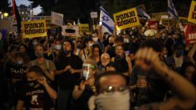 Miles de israelíes protestan y piden la renuncia de Netanyahu