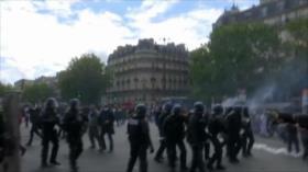 Choques en Francia. Paz en Colombia. Protesta contra Bolsonaro - Boletín: 01:30 - 15/07/2020