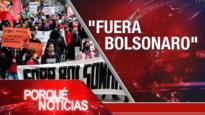 """El Porqué de las Noticias: A cinco años del acuerdo nuclear. Proceso de paz en Colombia. """"Fuera Bolsonaro"""""""