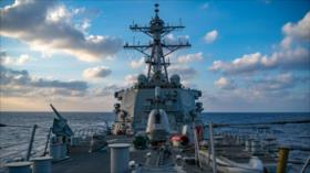 EEUU anuncia envío de más buques de guerra al mar del Sur de China