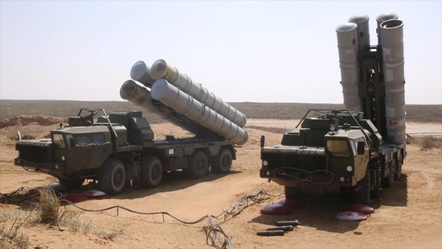 Los sistemas de defensa antiaérea S-300, de fabricación rusa.