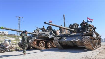 """Siria lanza su """"mayor ataque"""" del mes contra terroristas en Idlib"""
