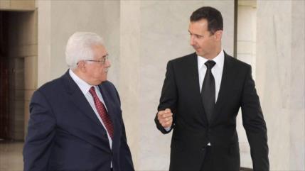 Revelan contenido de la carta de Bashar al-Asad a Mahmud Abás