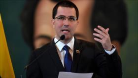 Arreaza: EEUU maneja información manipulada sobre Venezuela