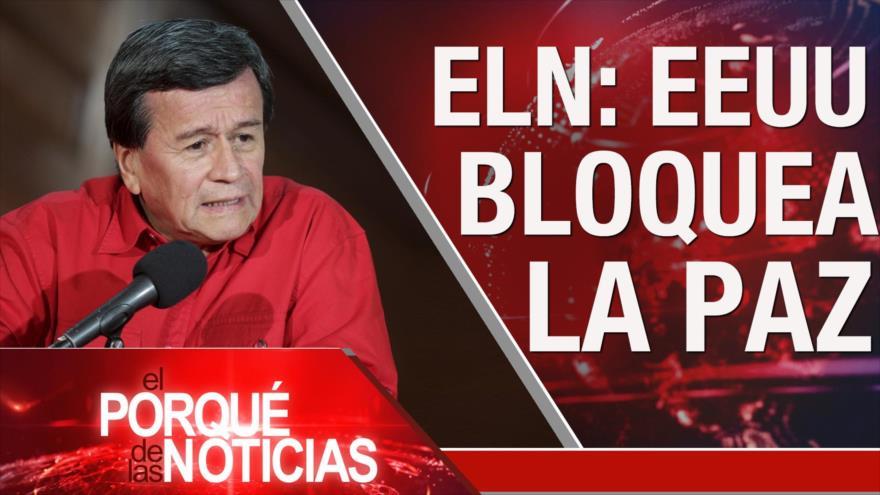 El Porqué de las Noticias: Tensión China-EEUU. Washington contra paz en Colombia. Espionaje contra presidente del Parlamento catalán