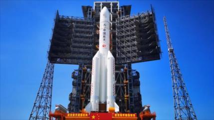 Vídeo: China prepara cohete para su primera misión en Marte