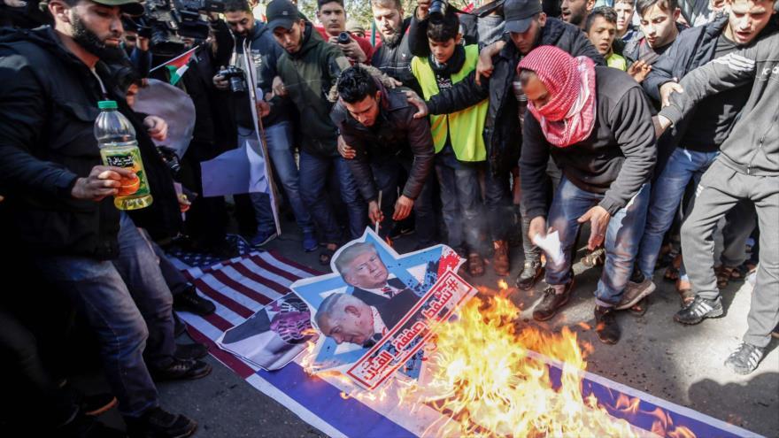 'Resistencia popular, única vía para enfrentar planes de Israel y EEUU'