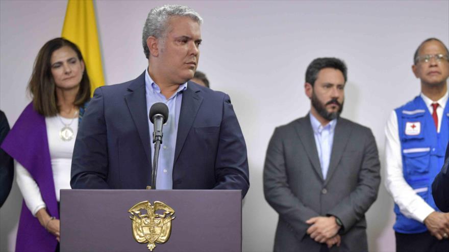 Denuncian en Colombia incapacidad política del presidente Duque | HISPANTV