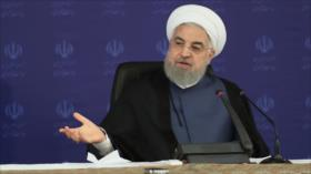 Presidente Rohani: iraníes podrán romper cadena de COVID-19