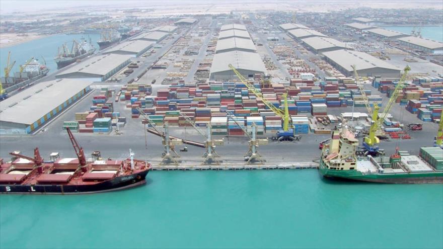El puerto iraní de Chabahar, situado en el sureste del país persa.