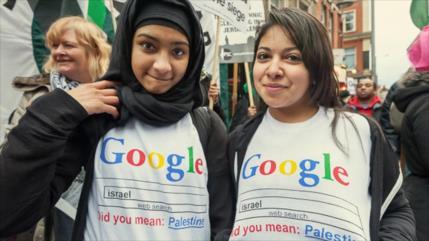 Un millón de personas pide a Google incluir a Palestina en su mapa