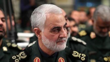 Canciller iraní rinde homenaje al asesinado general Soleimani