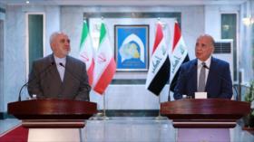 Irán apoya paz en Irak y censura violación de su soberanía por EEUU