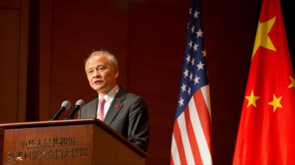"""Pekín avisa que EEUU debería aceptar realidad de la """"fuerte China"""""""