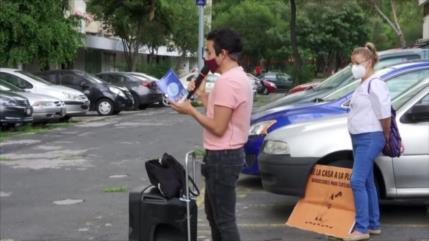 Arquitecto mexicano entretiene a niños confinados por COVID-19