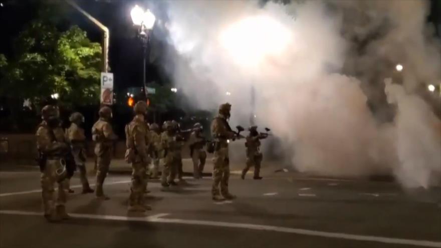Trump arremete contra autoridades de Portland por ola de protestas   HISPANTV