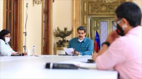 """Maduro denuncia """"ofertas engañosas"""" de EEUU frente a la pandemia"""