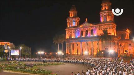 Sandinistas celebran 41.º aniversario del triunfo de su Revolución