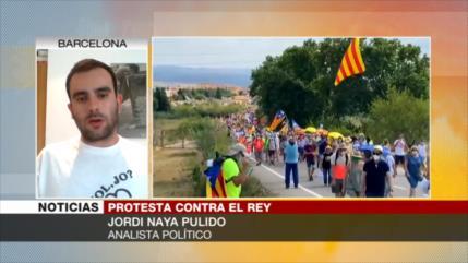 Naya: En Cataluña no sienten que el rey de España los representa