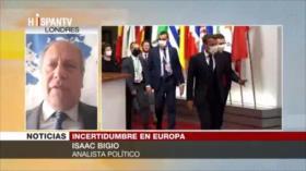 Bigio: COVID-19 ha generado terremotos políticos en Unión Europea