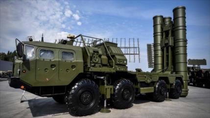 Rusia repele ataque simulado con sus sistemas S-400 y Pantsir-S1