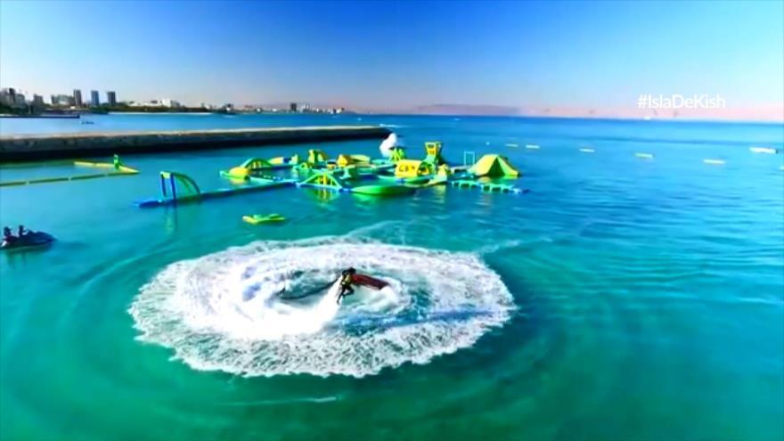 Ciberpaseo: Kish; La isla de Kish, la perla del Golfo Pérsico