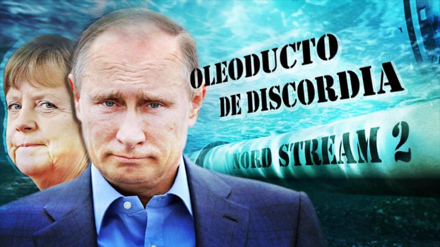 Detrás de la Razón: Gaseoducto Nord Stream 2 que lleva gas ruso es sancionado por la Casa Blanca