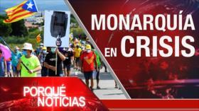 """El Porqué de las Noticias: Monarquía en crisis. Justicia laboral, justicia racial. """"Fraude electoral"""""""