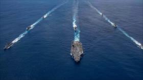 La India y EEUU realizan ejercicios navales ante tensión con China