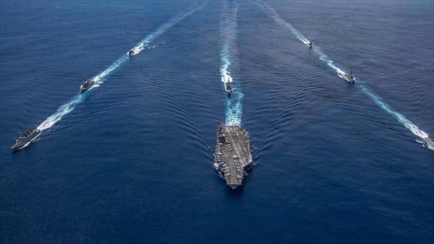 La India y EEUU realizan ejercicios navales ante tensión con China | HISPANTV