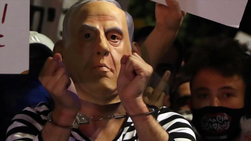 Vídeo: Netanyahu se enfrenta a ola de protestas por su gestión