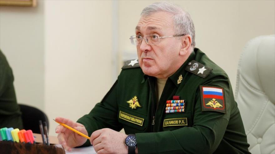 El primer viceministro de Defensa de Rusia, Ruslán Tsalikov.
